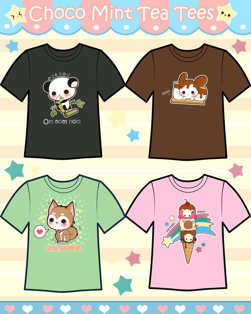 Cute Shirt Designs? by Tsubaki-Akia