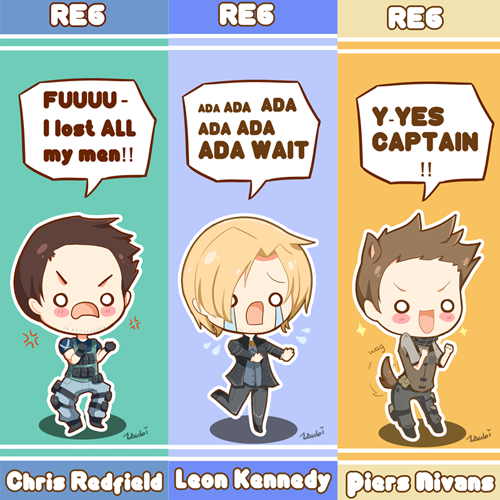 RE 6 Bookmarks by Tsubaki-Akia