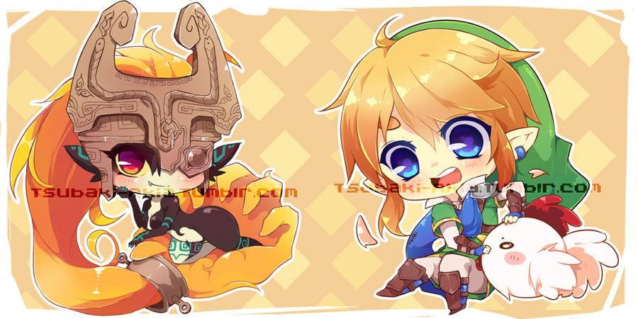 Legend of Zelda Charms Part A by Tsubaki-Akia