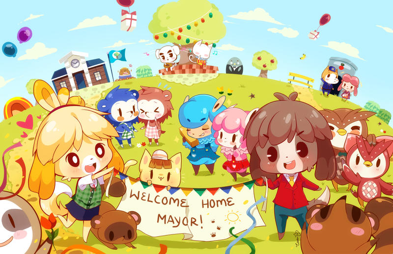 Animal crossing new leaf by tsubaki akia on deviantart for Animal crossing new leaf arredamento