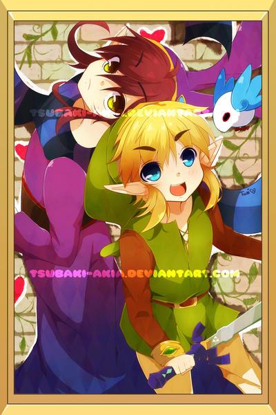 Zelda: Link between Worlds by Tsubaki-Akia