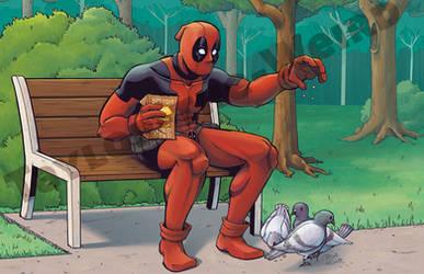 Deadpool at the Park