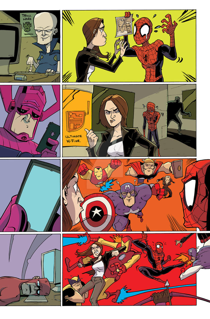 Secret Wars Too 3 by Taylor-the-Weird