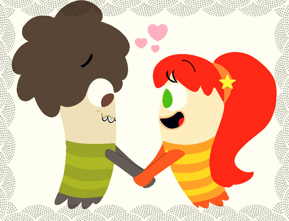 Fish hooks happy valentine 39 s day oscar and bea by for Milo fish hooks