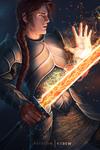 Fiery warrior / Valensan