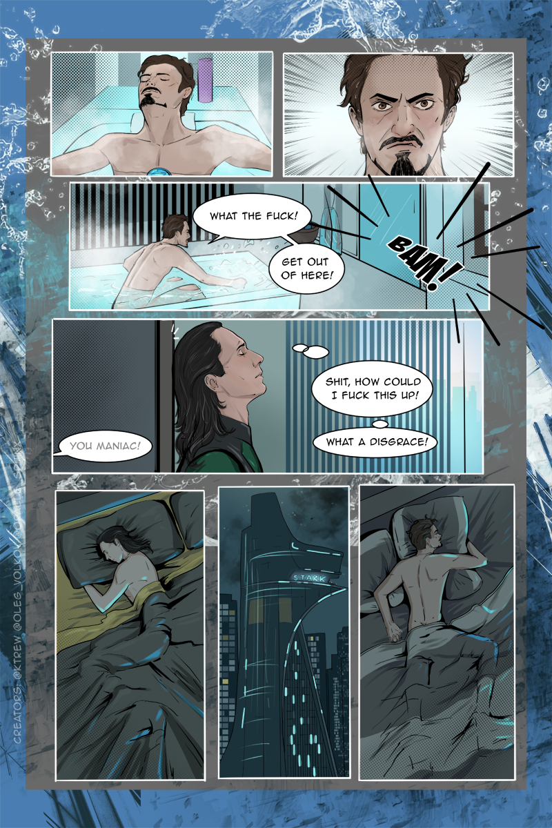 Frostiron, comic, page 28