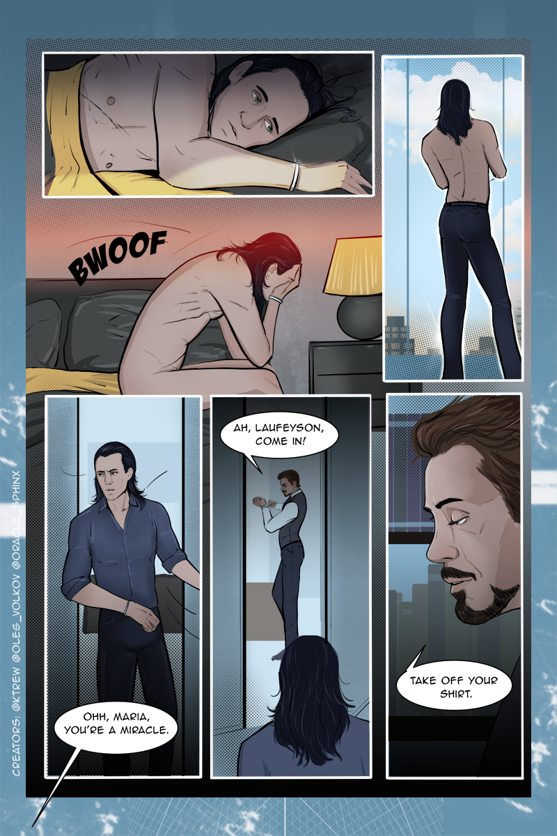 Frostiron, comic, page 29