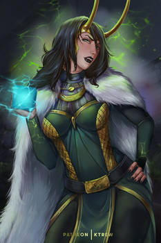 Lady Loki: Look what I have!