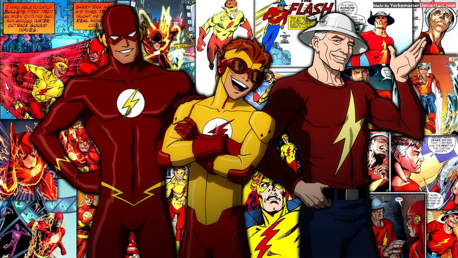 flash family by yorkemaster on deviantart