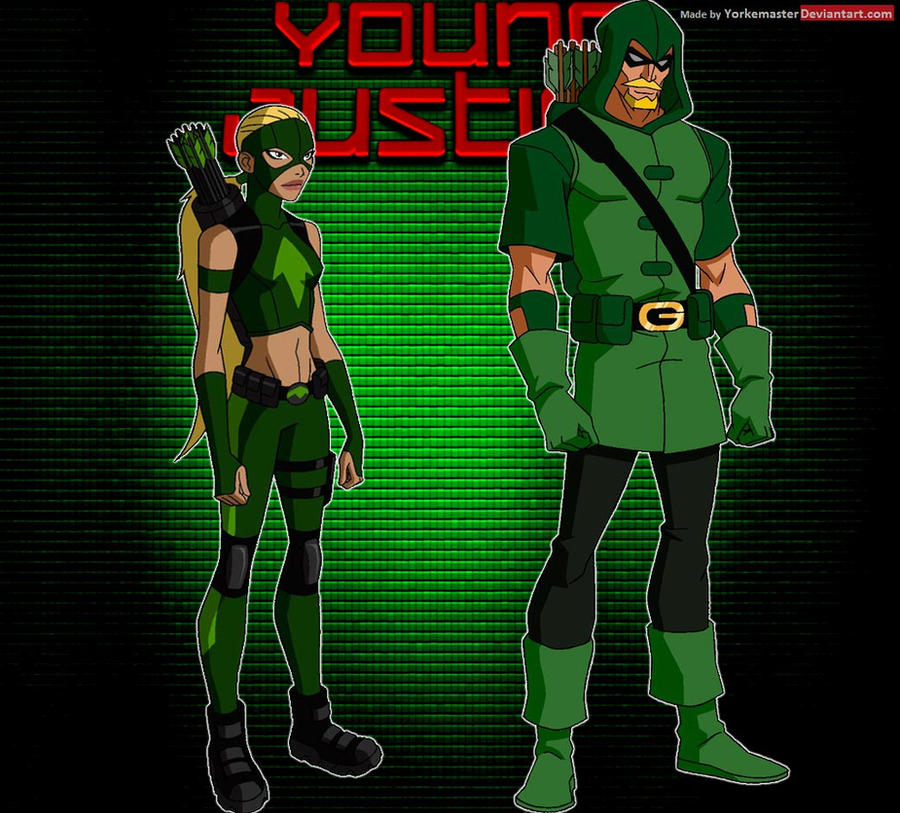 YoungJustice: Green Arrow and Artemis by YorkeMaster on ...