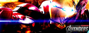 The Avengers: Iron Man Facebook Banner by YorkeMaster