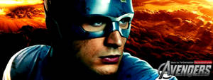 The Avengers: Captain America Facebook Banner by YorkeMaster