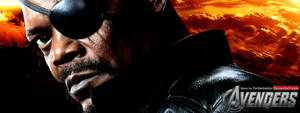 The Avengers: Nick Fury Facebook Banner by YorkeMaster
