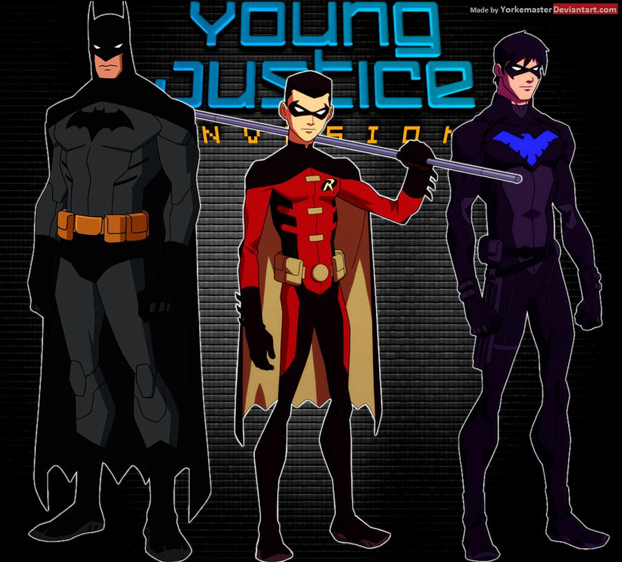 young justice nightwing mask hot girls wallpaper