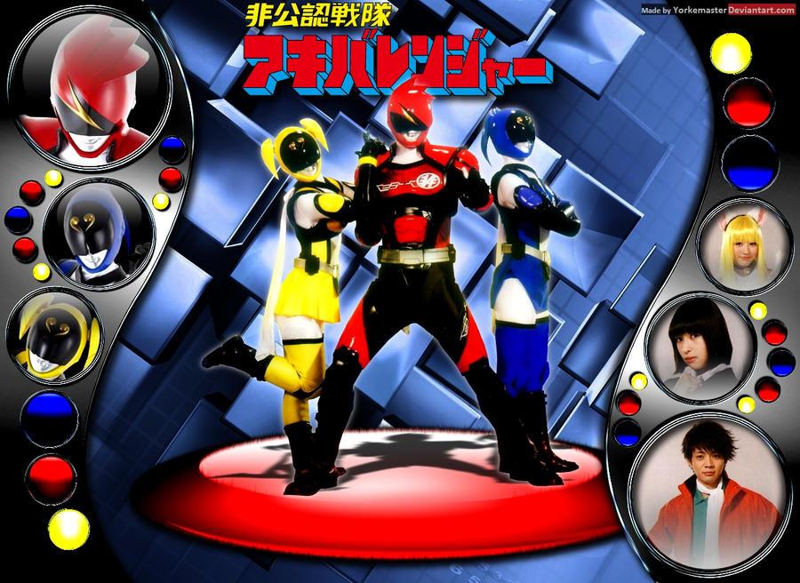 Hikonin Sentai Akibaranger by YorkeMaster