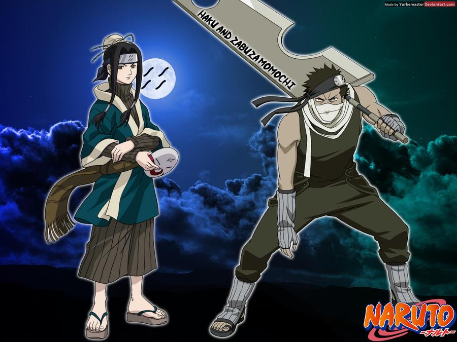 Haku and Zabuza Momochi by  Zabuza Momochi