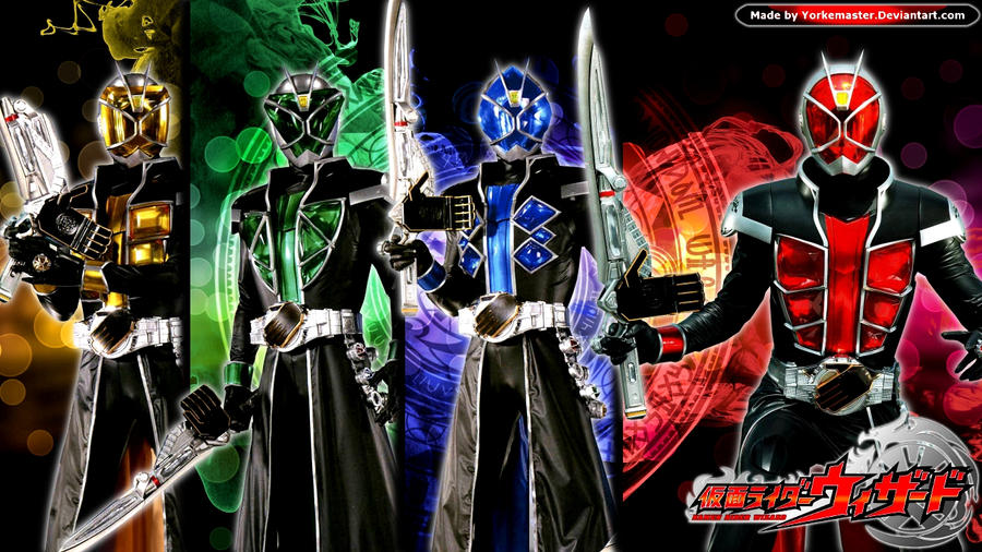 Kamen Rider Wizard by YorkeMaster on DeviantArt