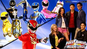 Power Rangers Megaforce by YorkeMaster