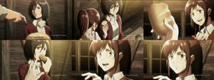 Mikasa Denies Sasha Bread