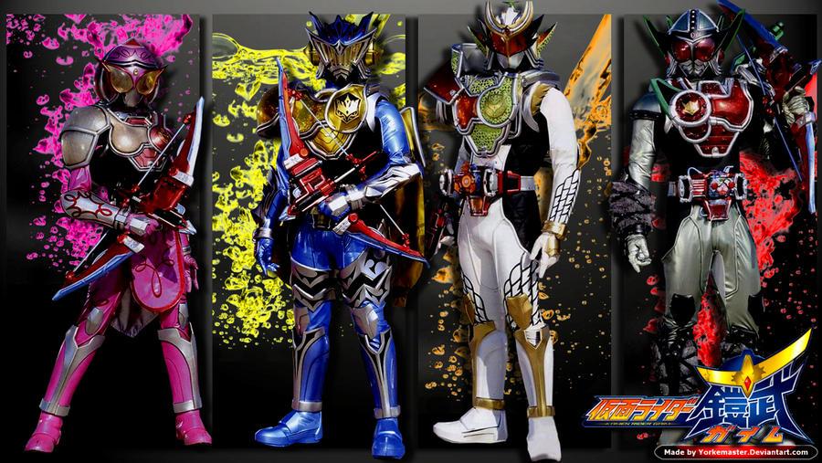 Kamen Rider Gaim: New Generation Rider by YorkeMaster