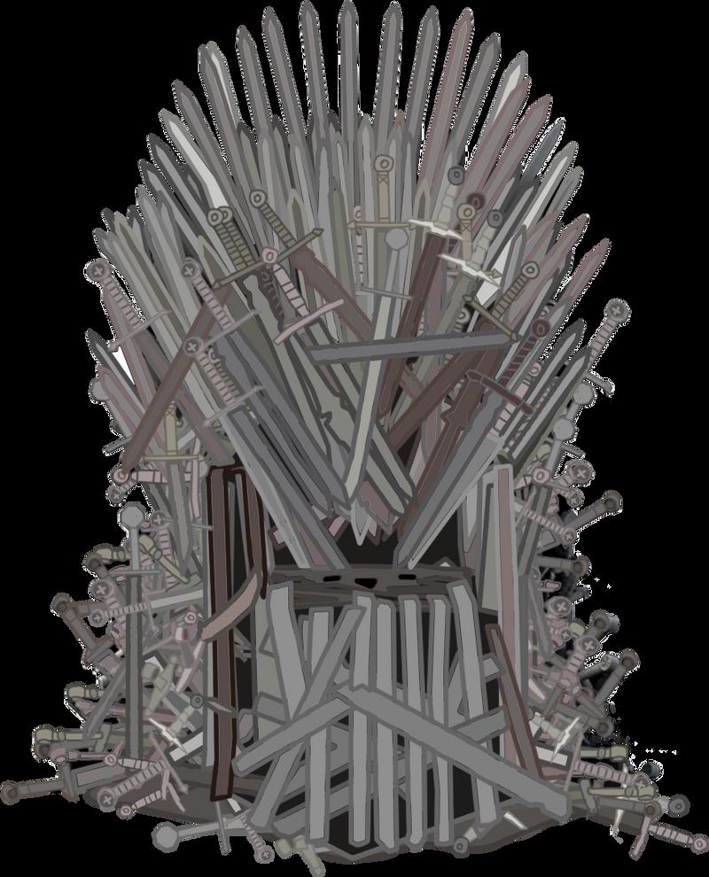 Iron Throne Silhouette Iron Throne by SadlyLo...