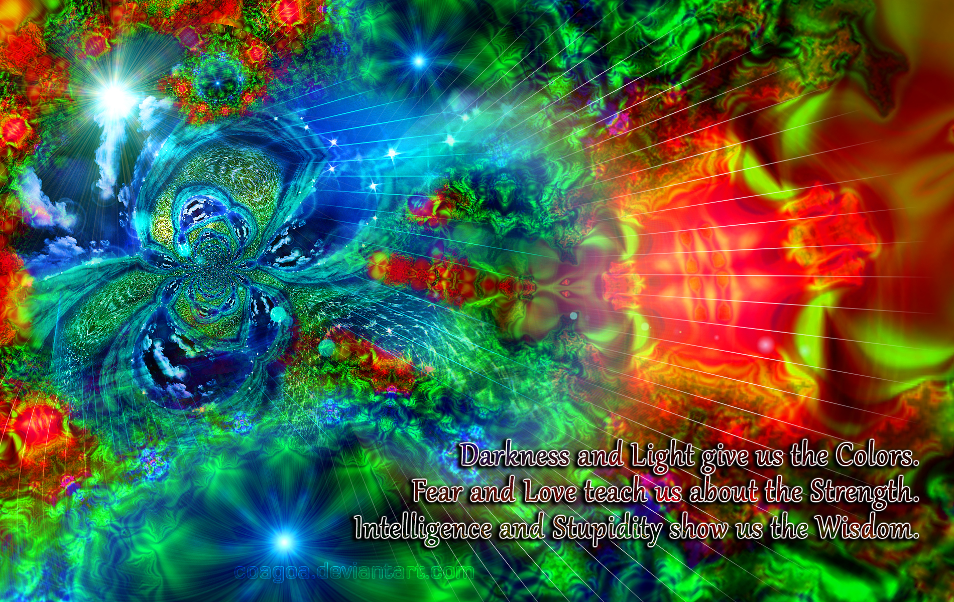 Colors Of Wisdom by CoaGoa