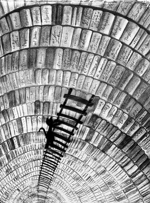 la biblioteca de Babel. by tothemo0nandback