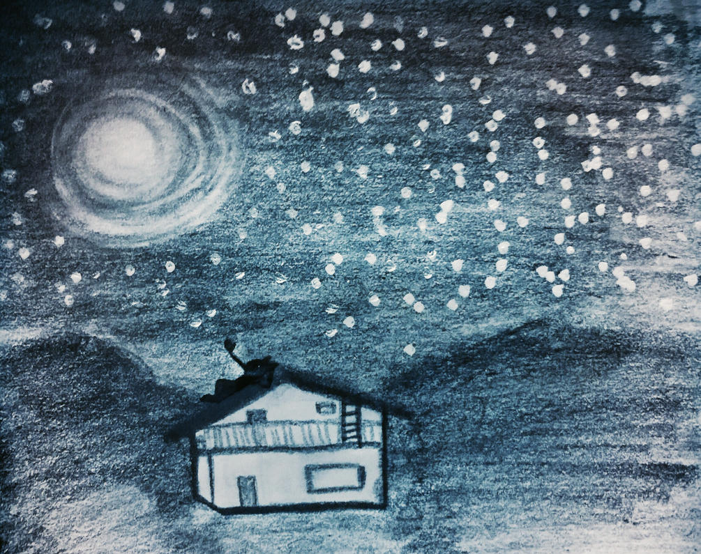 I miss seeing the stars as before by tothemo0nandback