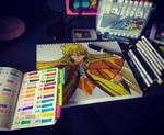 pintando a shaka virgo