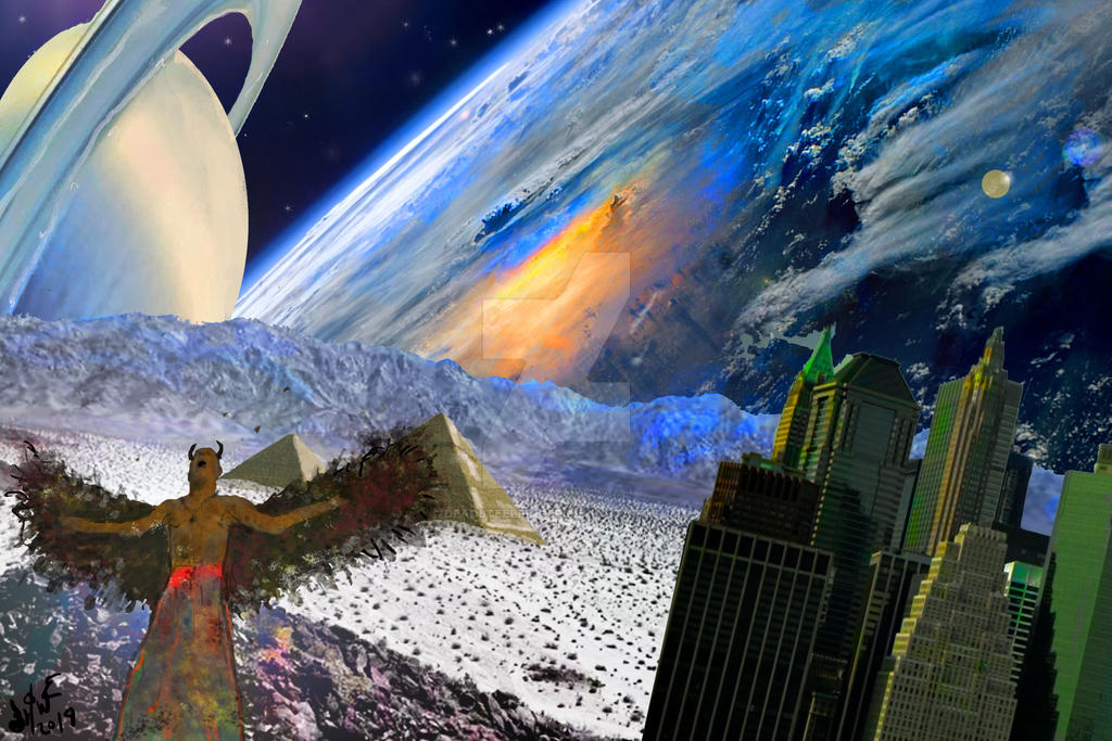 Satan buys property in outer space by Deadsteelfinger