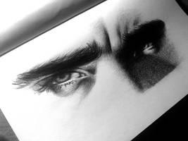 Thranduil's eyes by AlexSpooky