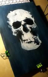 Sherlock skull by AlexSpooky