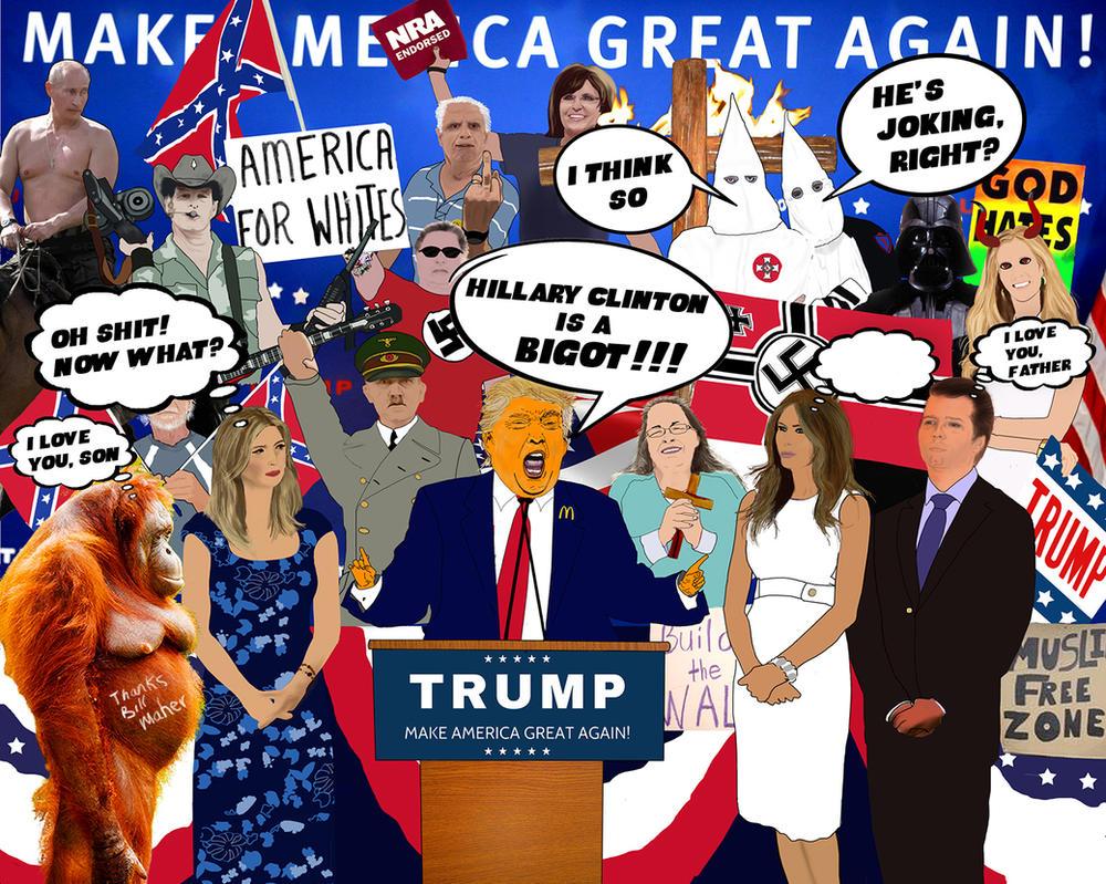 Hillary Clinton is a Bigot - Brigitte Lattanzio by brigel333