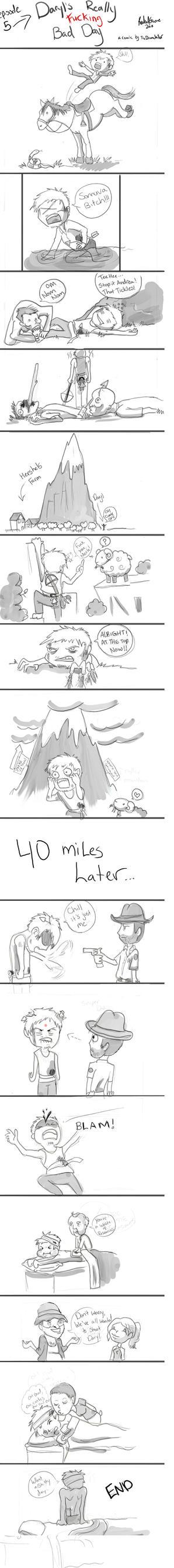 Daryl's shitty day by Akuya-Kyuubi