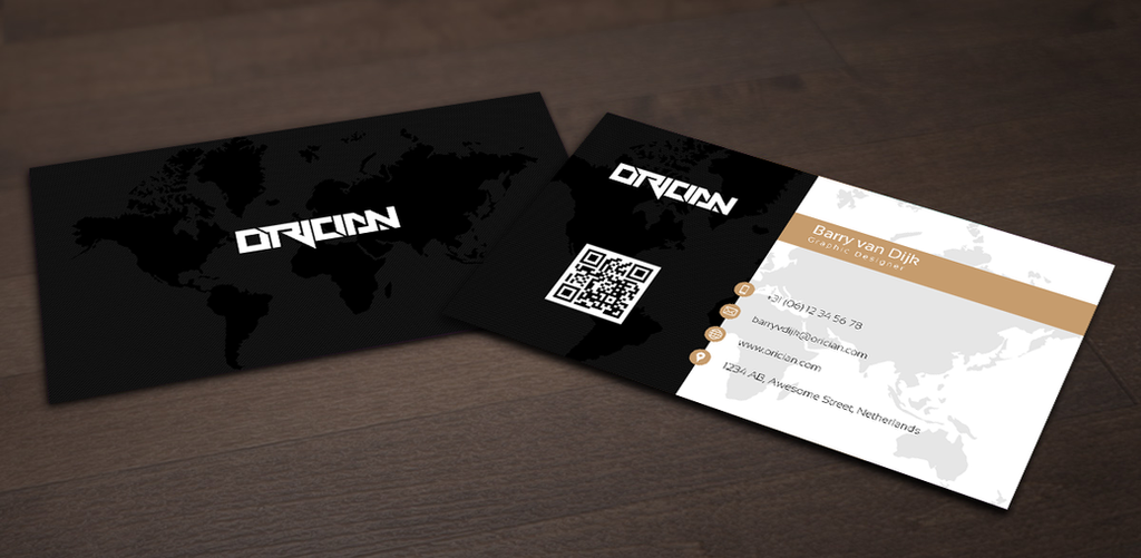 business card world map by OfficialOrician on DeviantArt