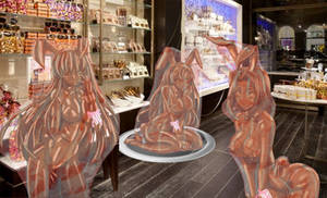Deluxe Chocolate Bunnies - Wrapped Ver.