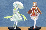 Sinon and Asuna Dolls Request