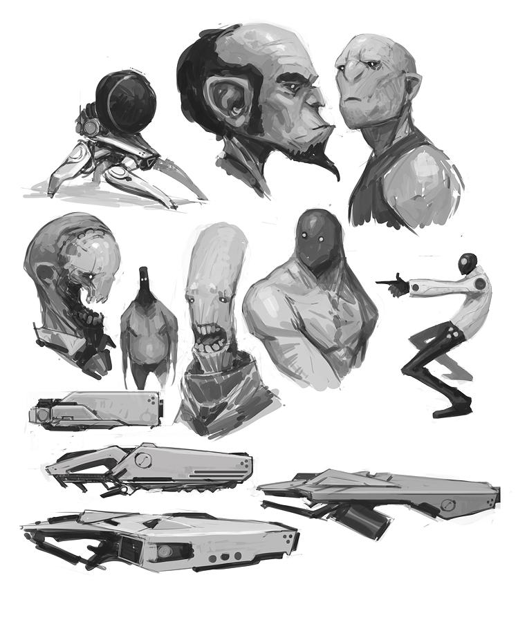 Sketchbook 2 by fightpunch