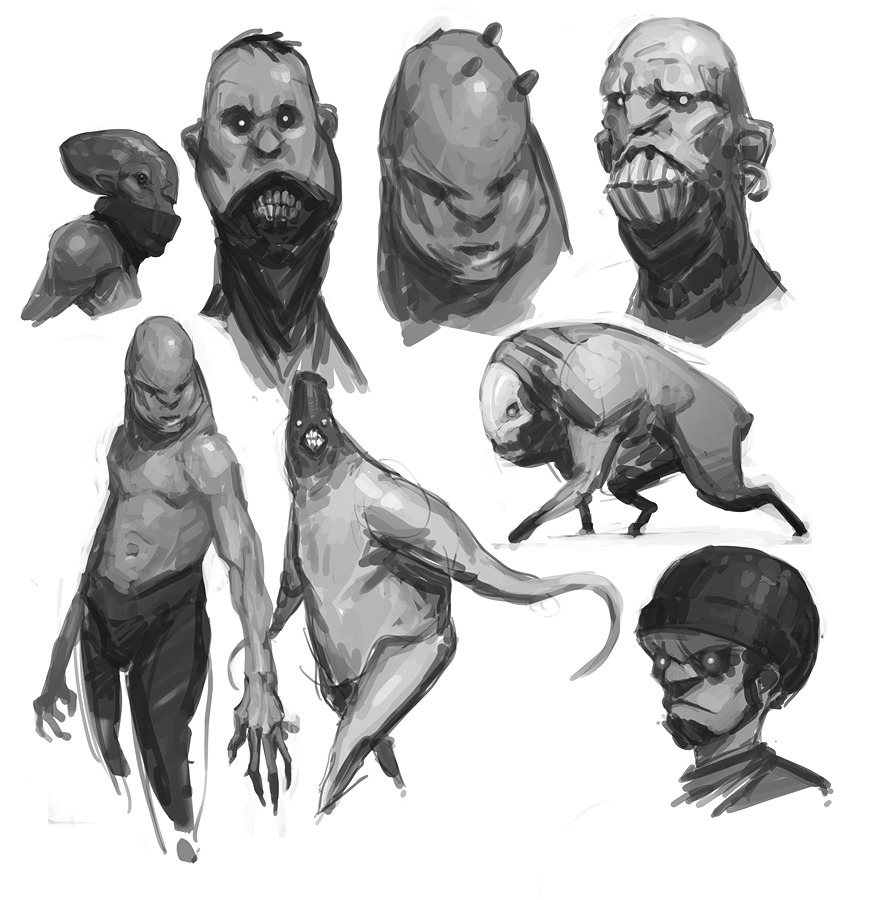 Sketchbook by fightpunch