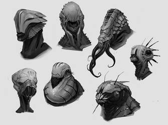 Aliens by fightpunch