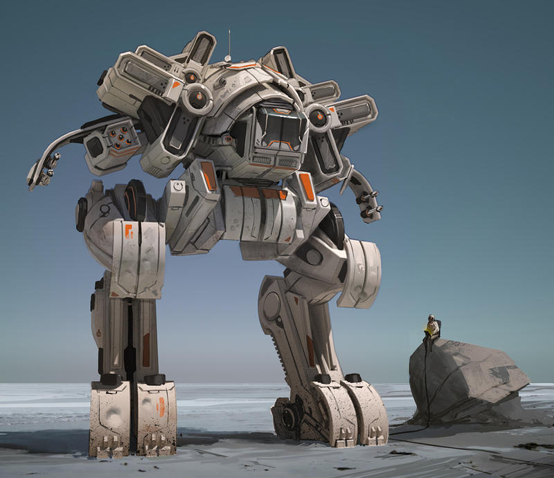 Mech Walker 2 by fightpunch