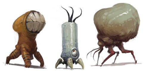 Creature Sketch Trilogy