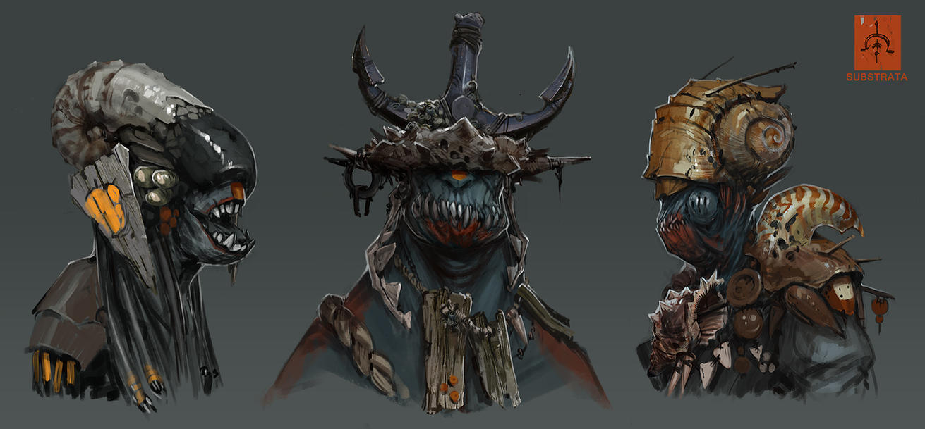 Substrata Tribals by fightpunch