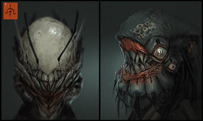 SUB heads 2 by fightpunch