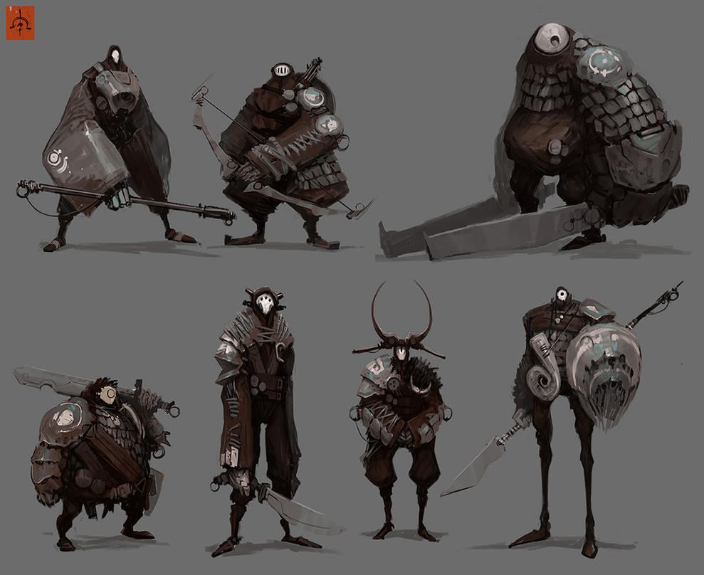 substrata_land_dwellers_lineup_by_fightpunch-d66vzar.jpg