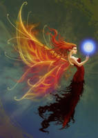 Flame Fairy by ValliantCreations