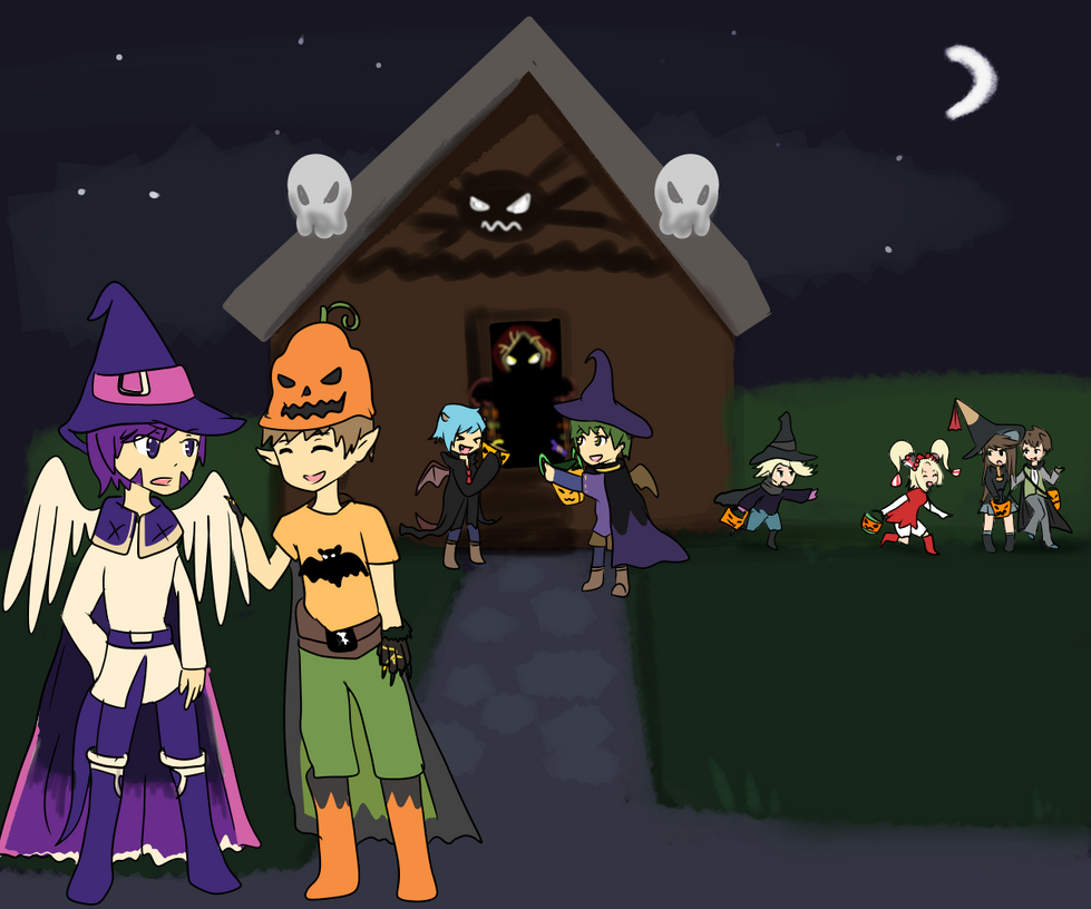 Trick or Treat 2014 by Windaura
