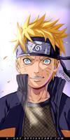 NarutoShippuden Naruto Coloring by: N--GAT