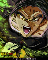 dragon ball super broly by N--GAT