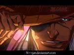 Bleach Kyouraku Shunsui Coloring By : N--GAT